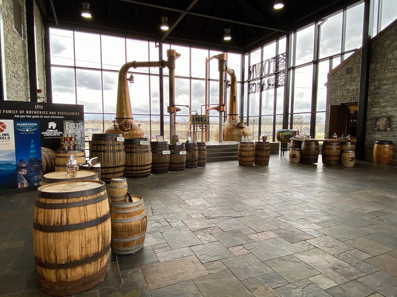 Distillery Overview -Lexington Brewing & Distilling Co (Town Branch Distillery)