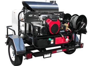 Gas 12V V-Belt Drive Trailer Models