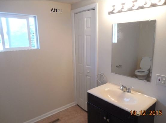 After Toilet Renovation