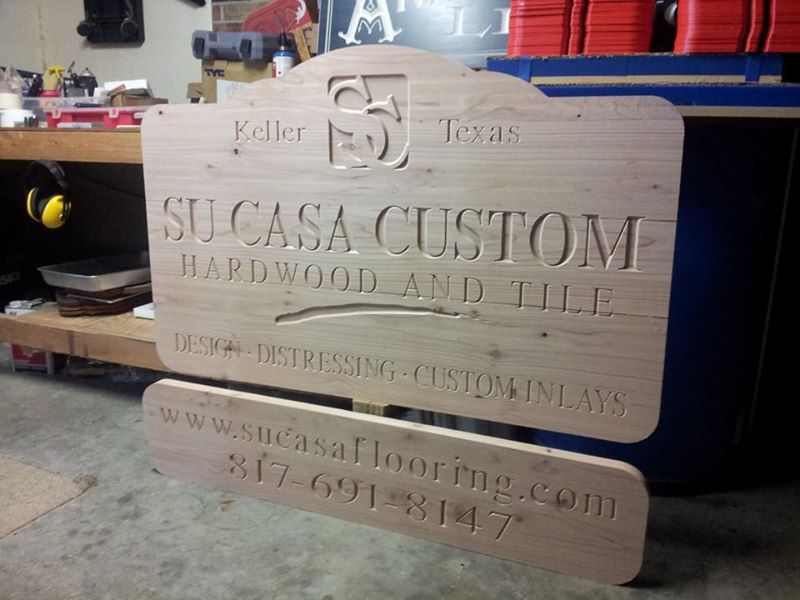 Business Sign - Cedar