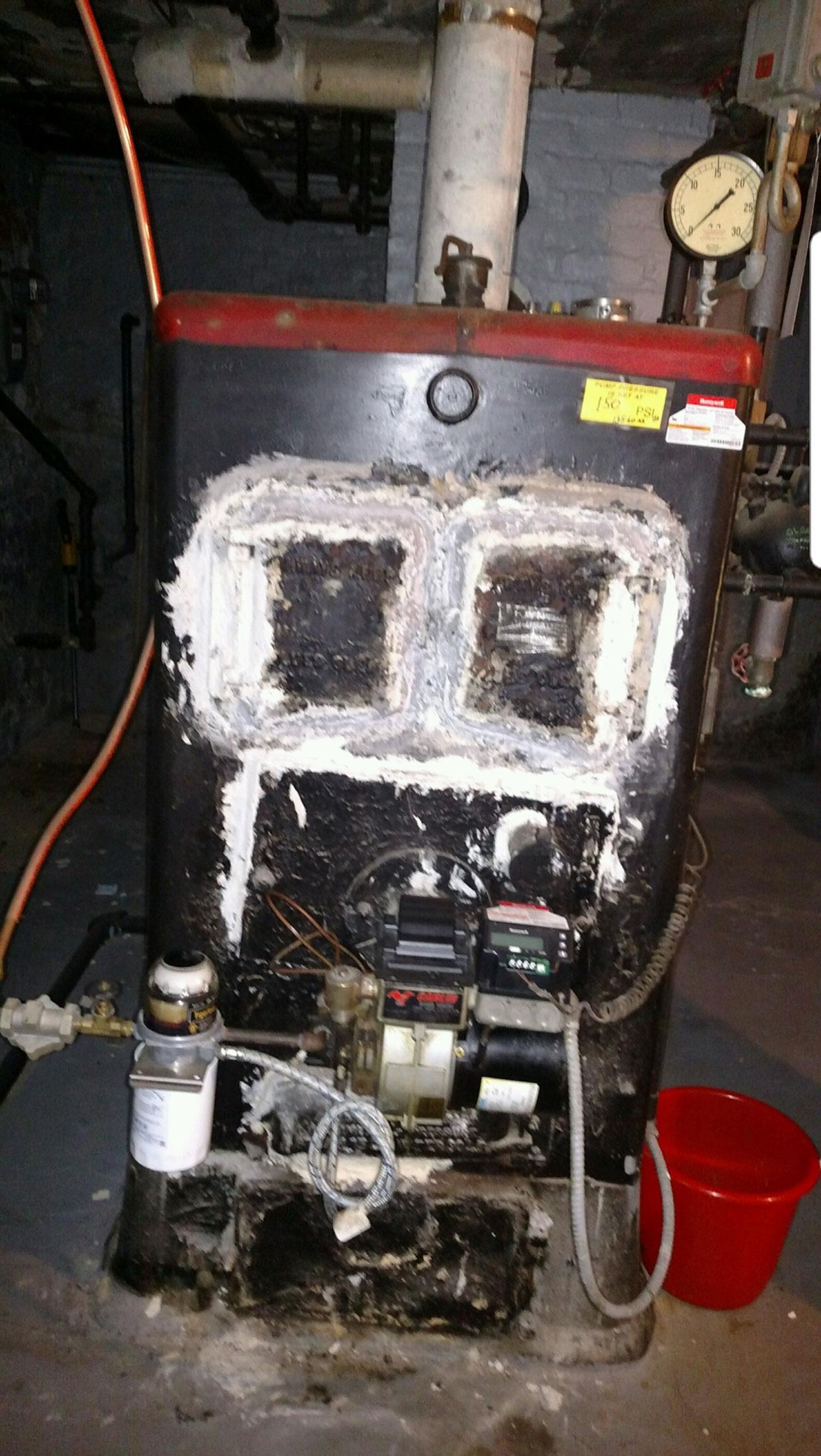 Asbestos Furnace