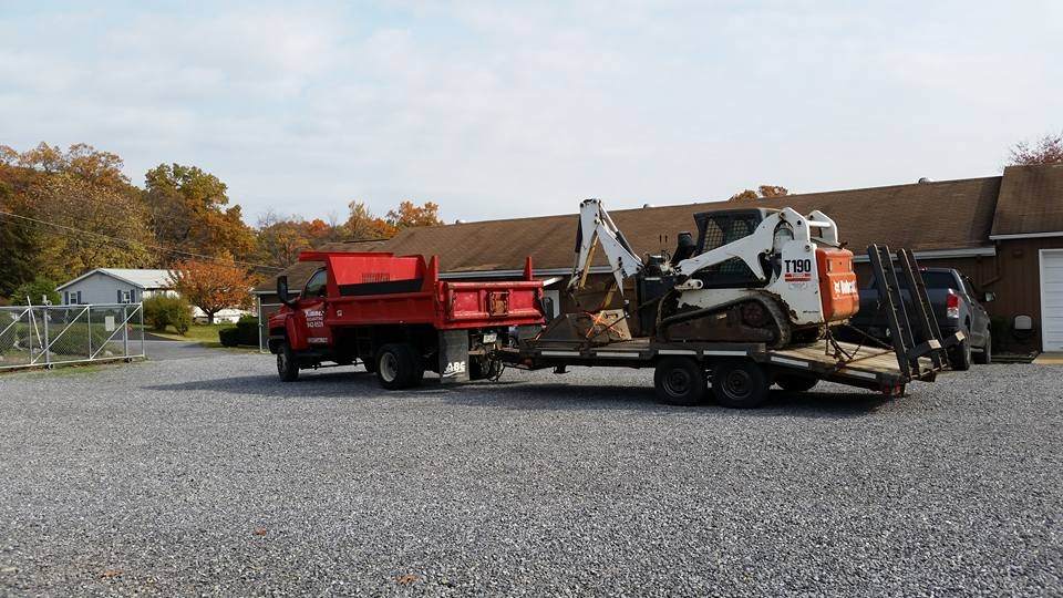Kimmen P&H has 2 Bobcats and 1 Case Back Hoe for your Excavation Needs