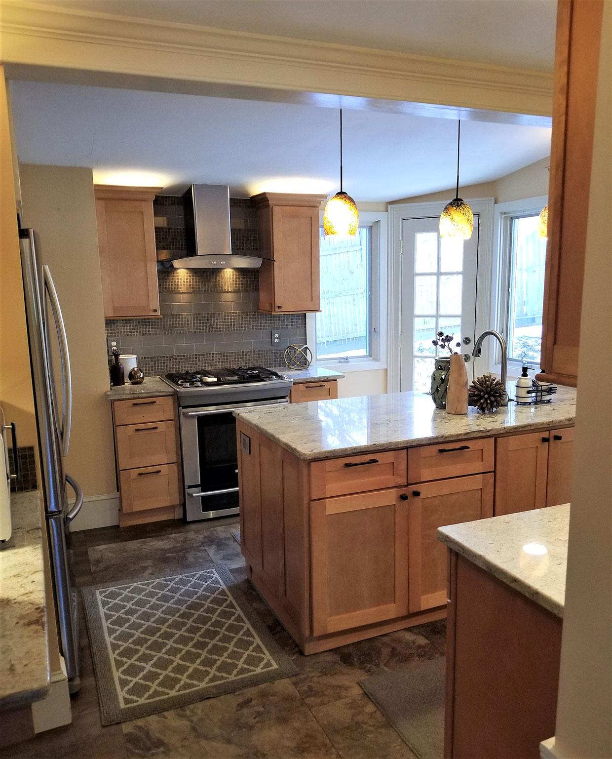 Renovated Kitchen Area