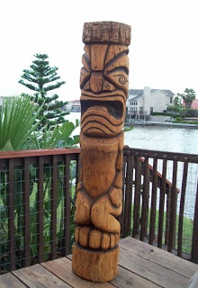 Tiki carving books