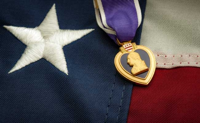 The Purple Heart is a United States military decoration
