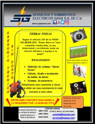 ESTUDIO DE SISTEMAS DE TIERRA