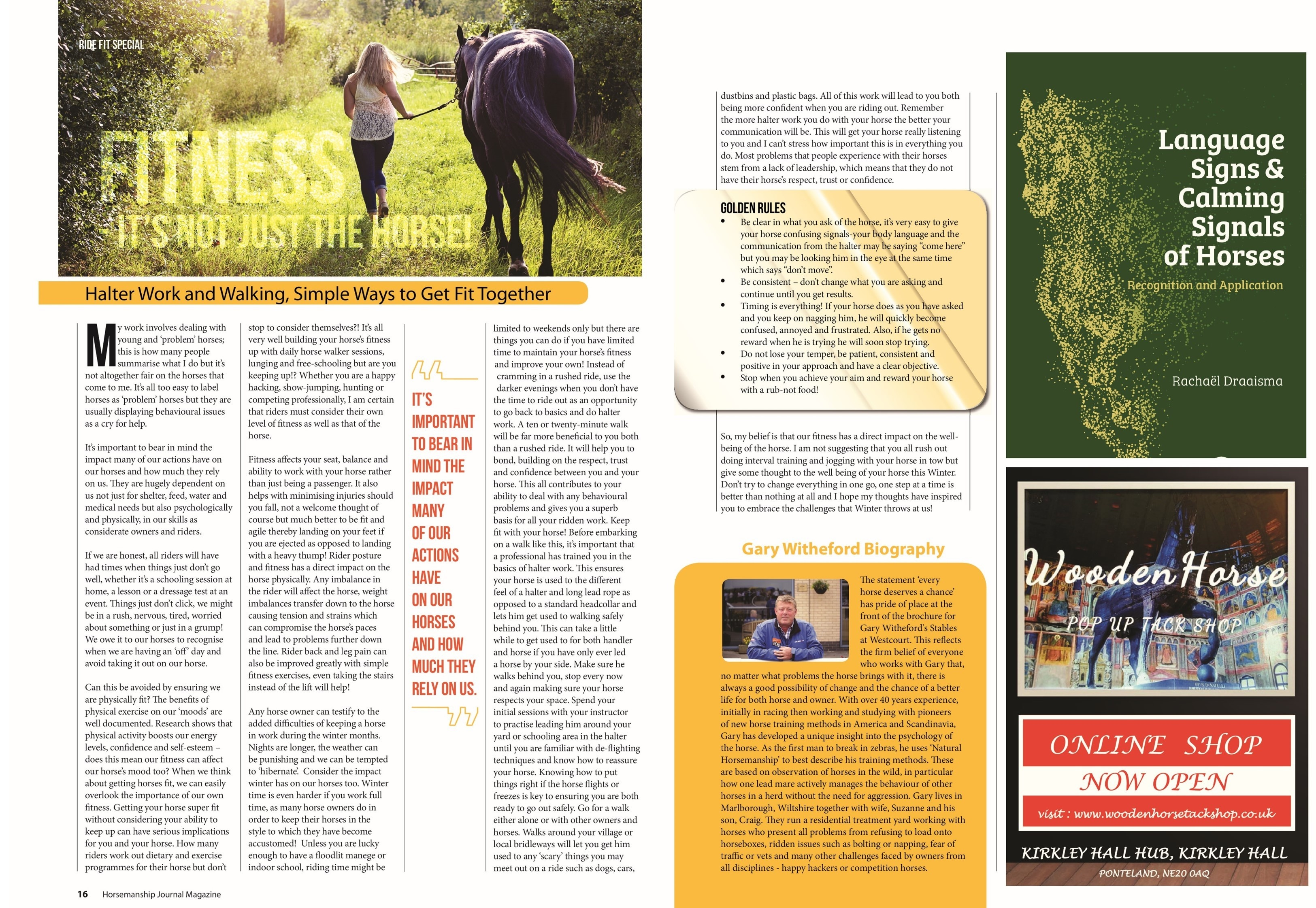 December 2017 - Horsemanship Journal