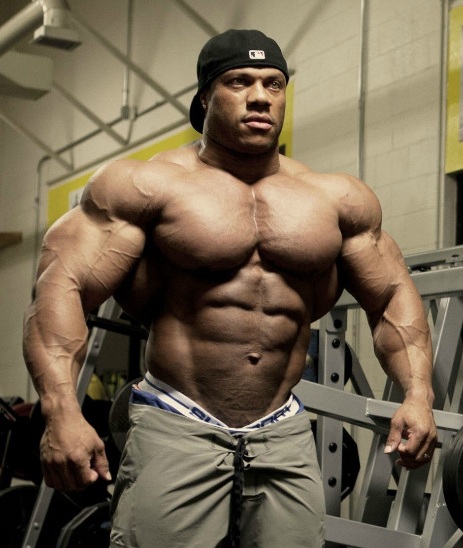 Phil Heath Present