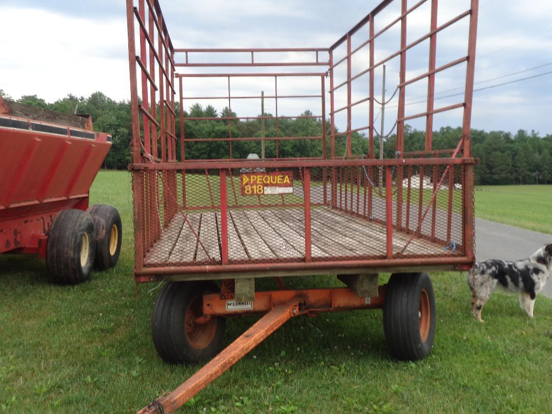 Pequea Bale Wagon