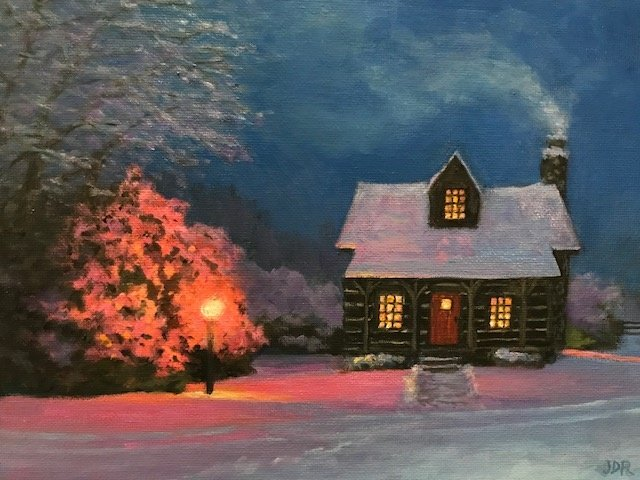 Janice Rosenberg, Cabin Light, SOLD
