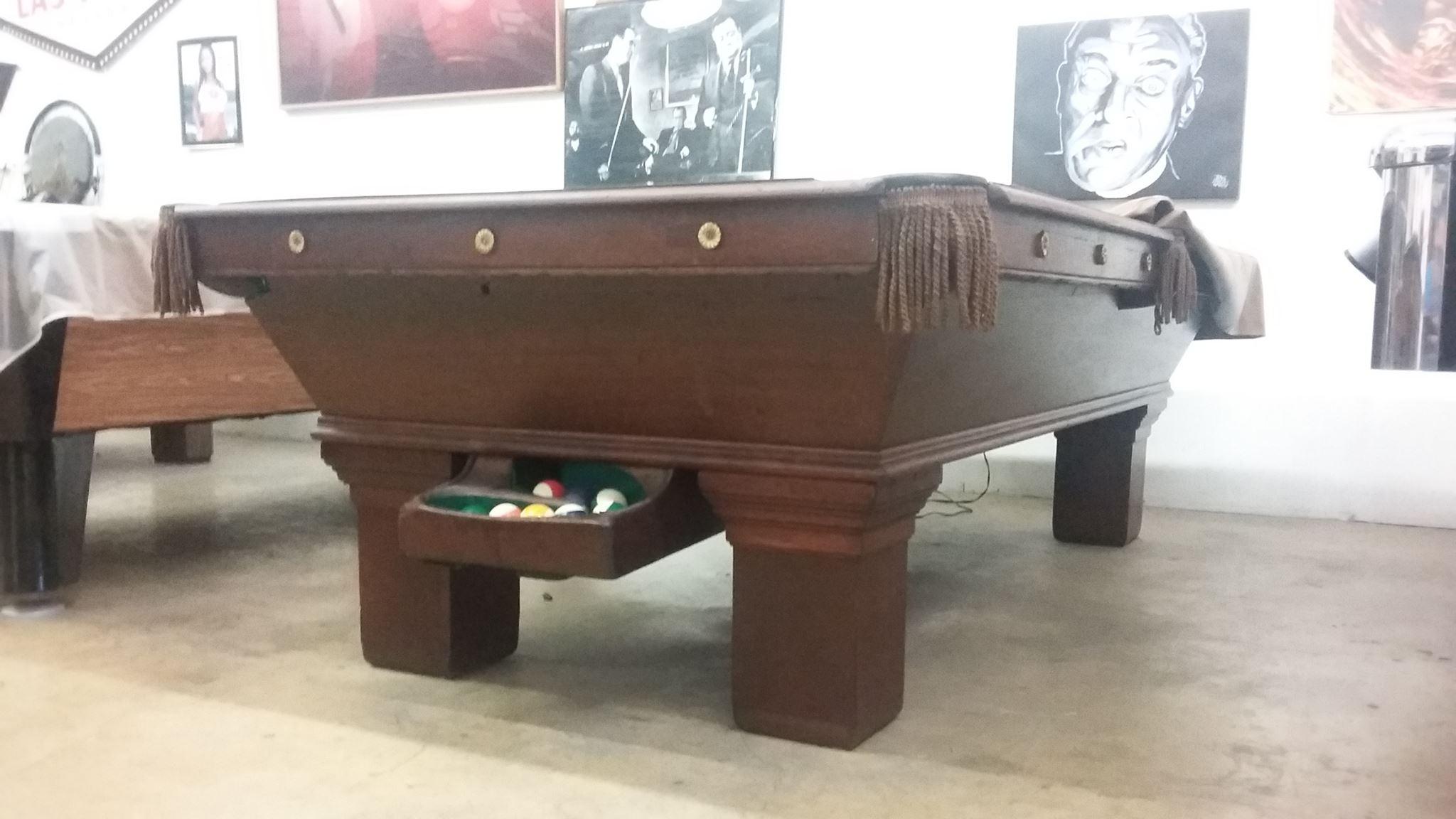 SOMAR BILLIARDS Used Pool Tables - United billiards pool table parts
