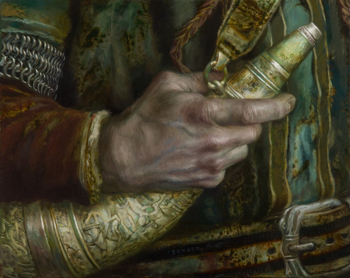 "The Horn of Gondor 11"" x 14""  Oil on Panel 2017 Illustration for The Lord of the Rings by J.R.R. Tolkien"