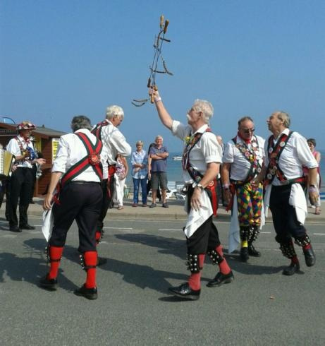 Helmsley Sword Dance at the Sea Front