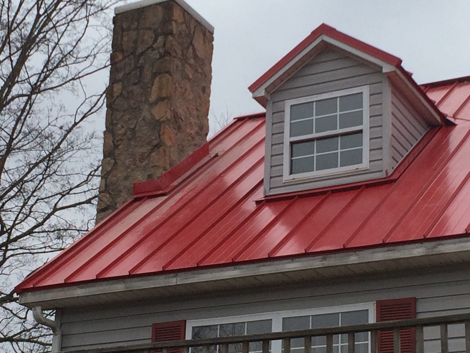 Red Roof Details