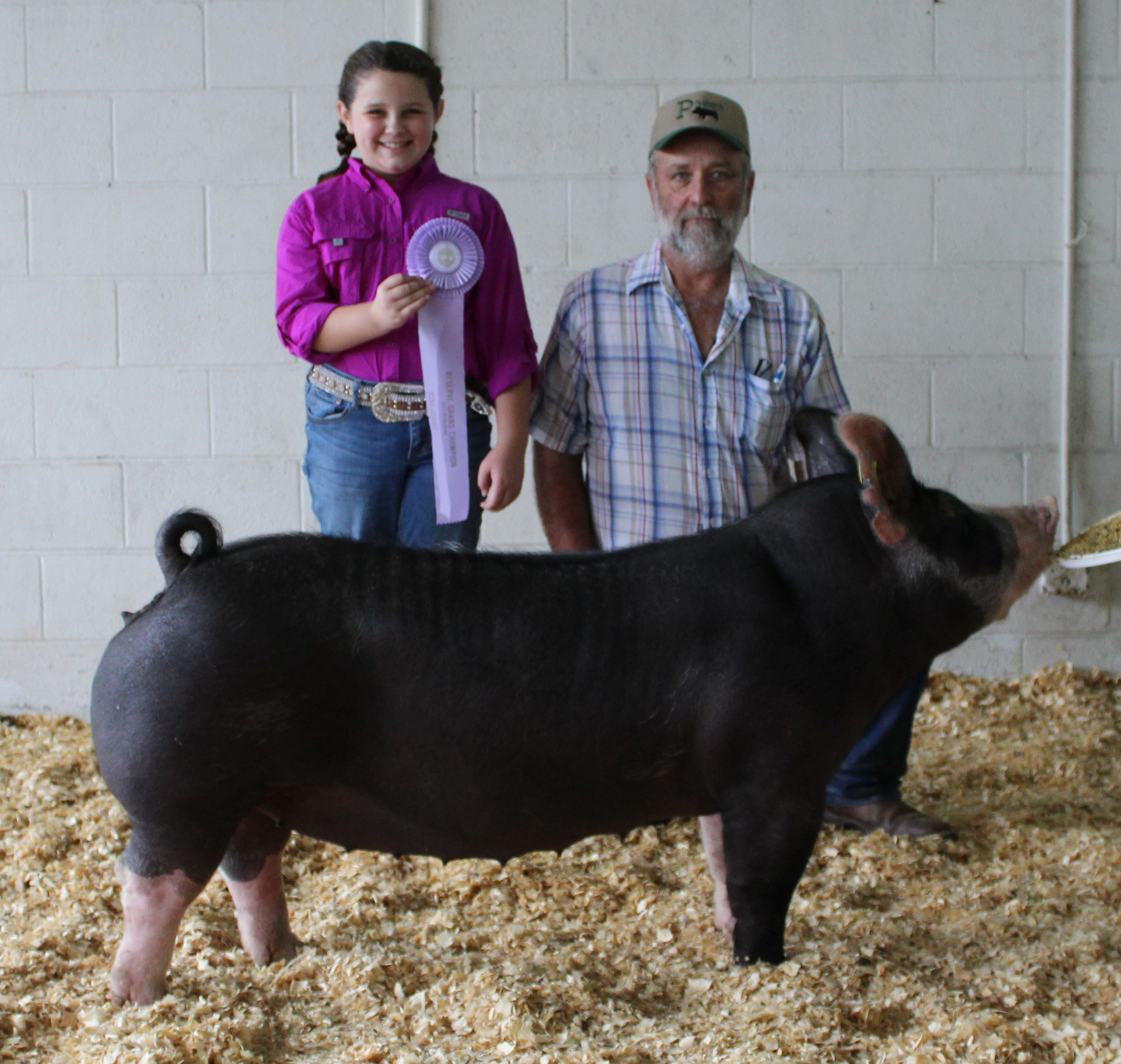 Ann Thomas Lowery 2018 Tennessee State Fair Reserve Champion Berkshire Gilt
