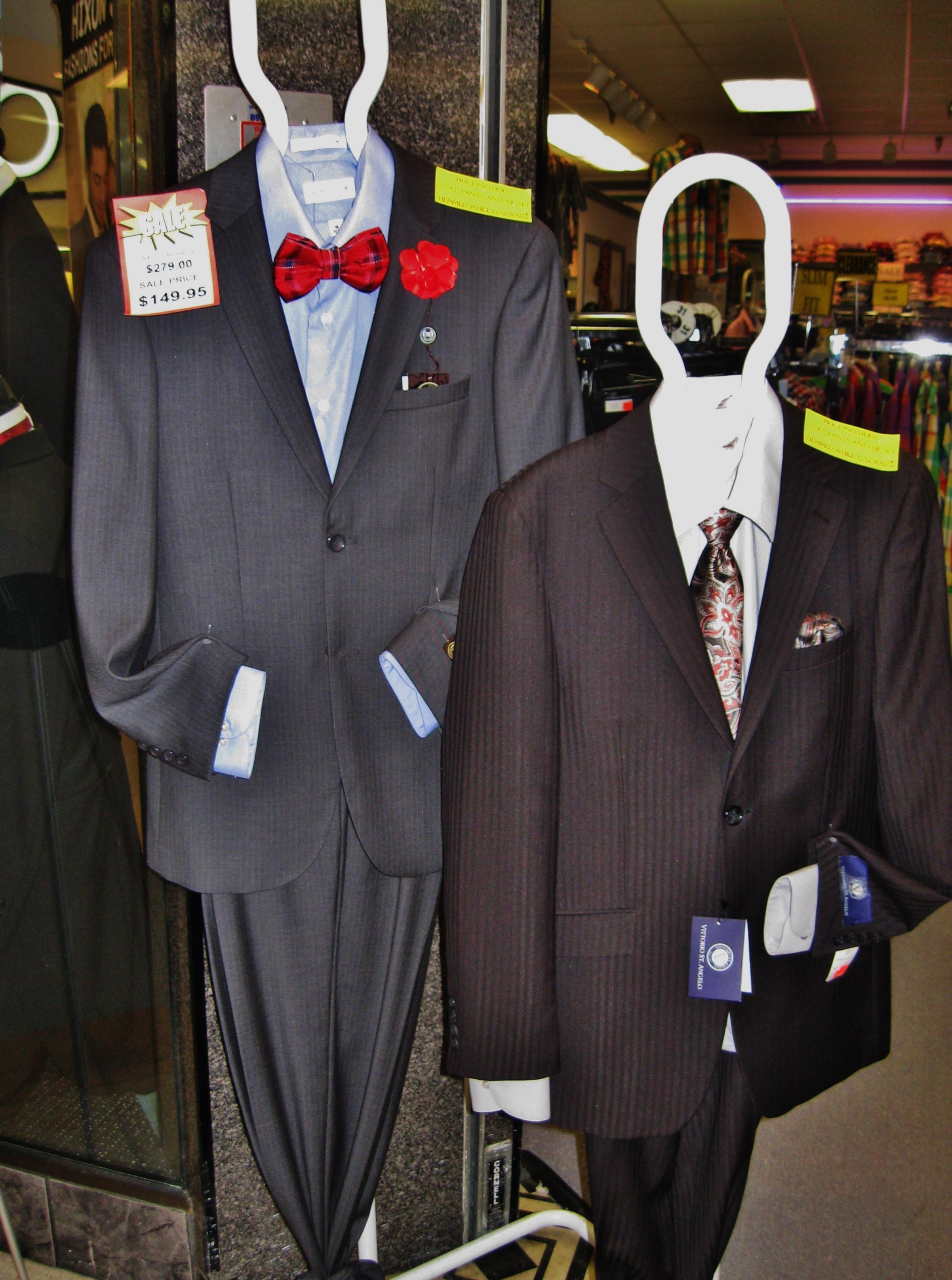 Most Suits under $169.00!!!