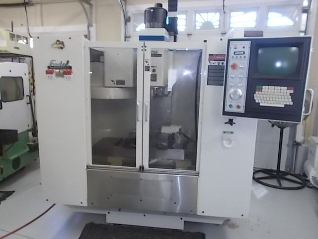 Fadal CNC Machining Center with 4th Axis & 21 Station Tool Changer