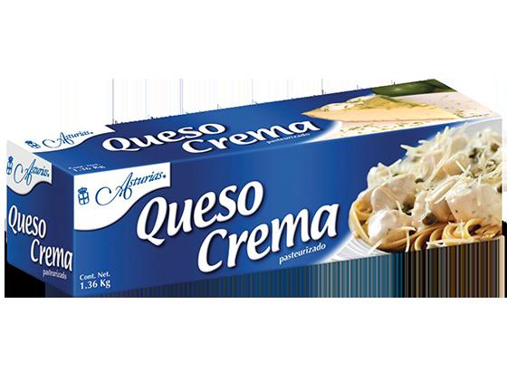 656  |  Queso Crema Asturias Caja de 13.6 kg (10 piezas de 1.36 kg)