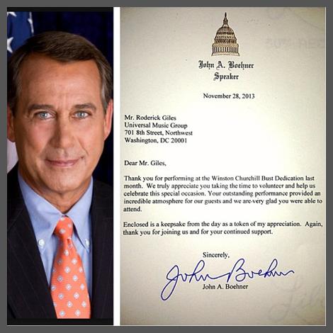 John Boehner letter||||