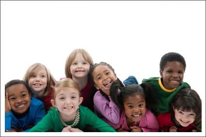 Group of children||||