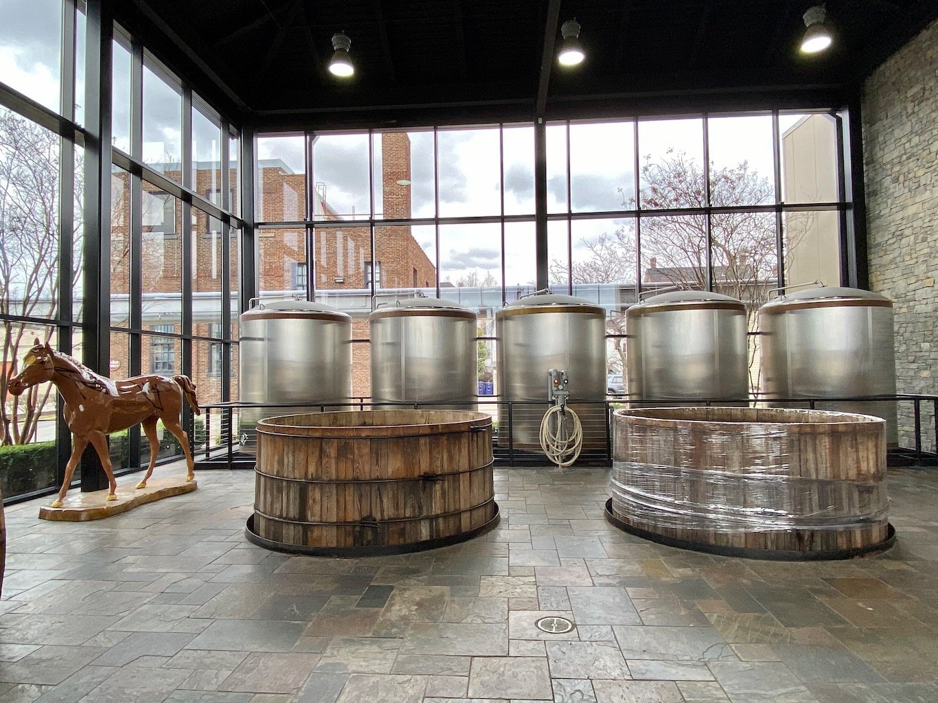 Cypress Fermenters -Lexington Brewing & Distilling Co (Town Branch Distillery)