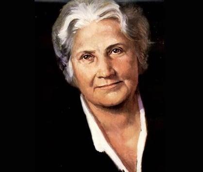 Maria Montessori portrait by Frank Szasz used courtesy of the Creative Process
