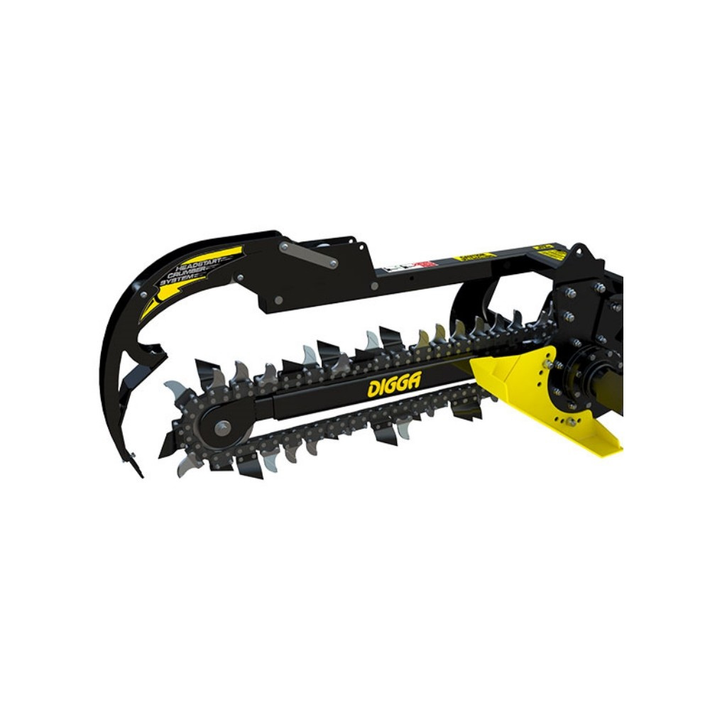 "Bobcat Trencher Attachment $125/day $375/week 36"" Deep - 6"" Wide Trench"