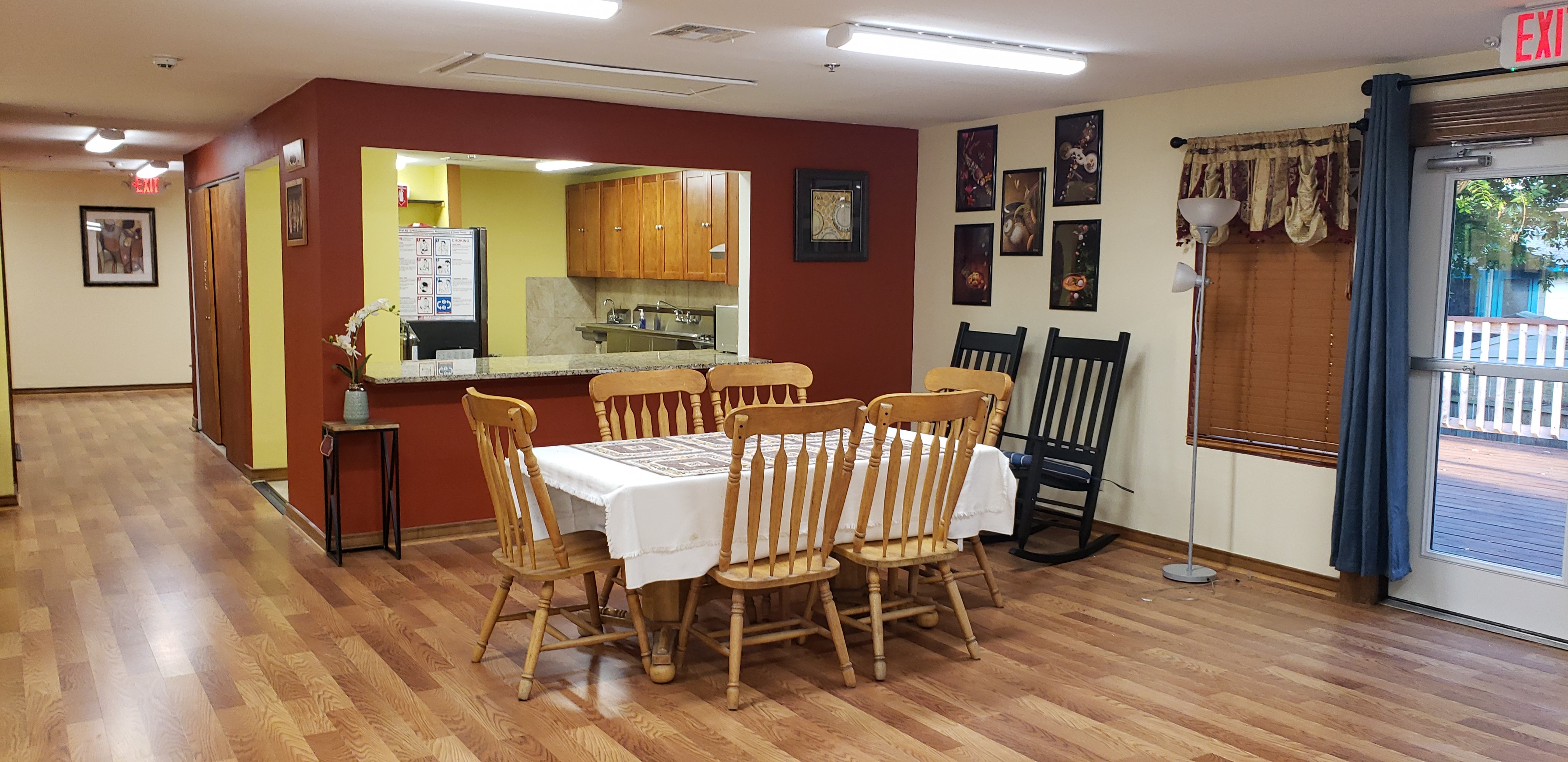 Senior Home Dining Area 2