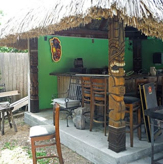 tiki palapa supports