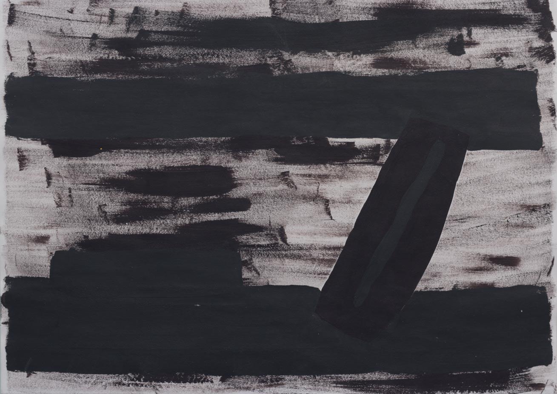 El Vacío, 2003 Acrilico sobre papel 24 x 34 cm