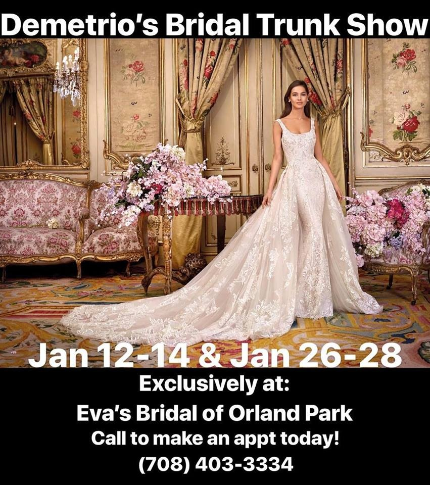Demetrio's Bridal Trunk Show