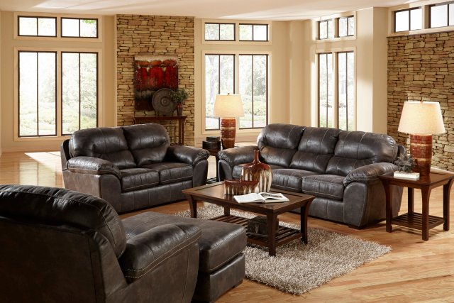 4453 Grant Steel Sofa and Loveseat