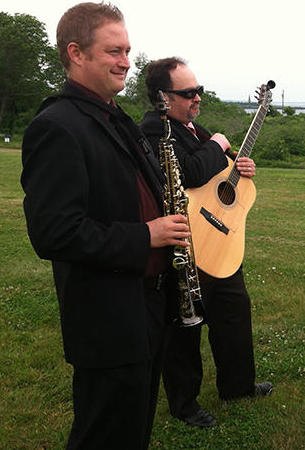 Rob and Darren Duo perfrom wedding ceremonies and a jazz duo