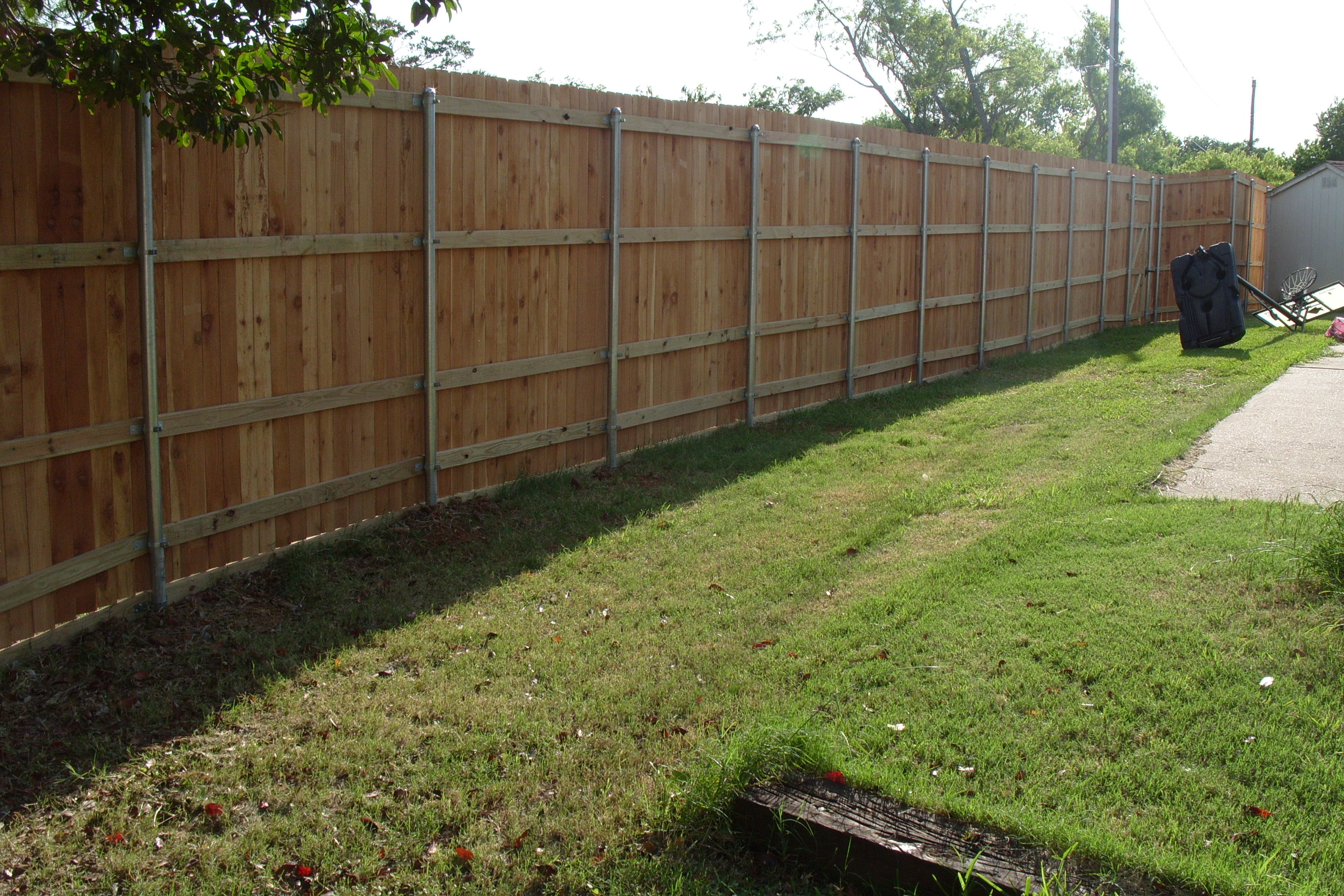Wooden Fence Project