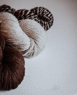 Thread From Alpacas' Fur