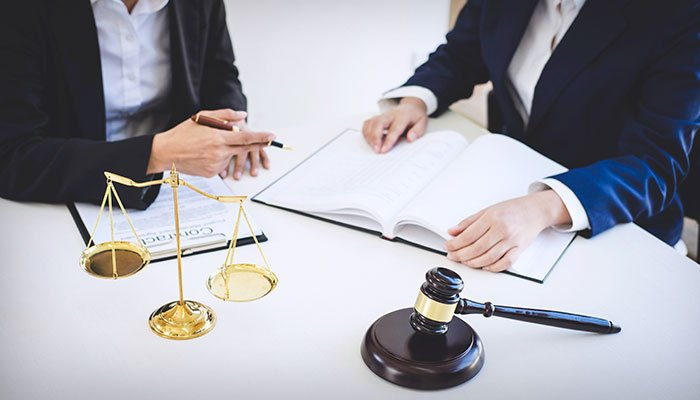 Teamwork of Business Lawyer