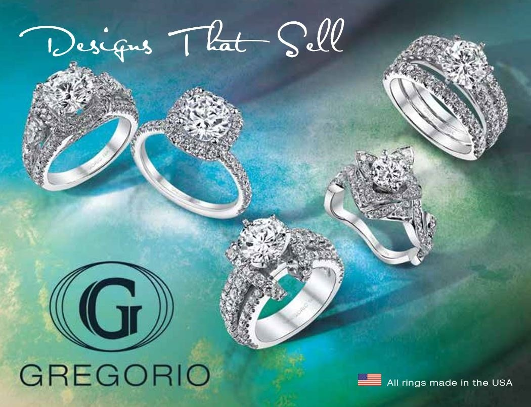 Gregorio Diamond Rings