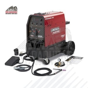 PRECISION TIG® 225 SOLDADORA TIG READY-PAK® CON CARRO Precision TIG 225 Ready-pak with Cart K2535-2