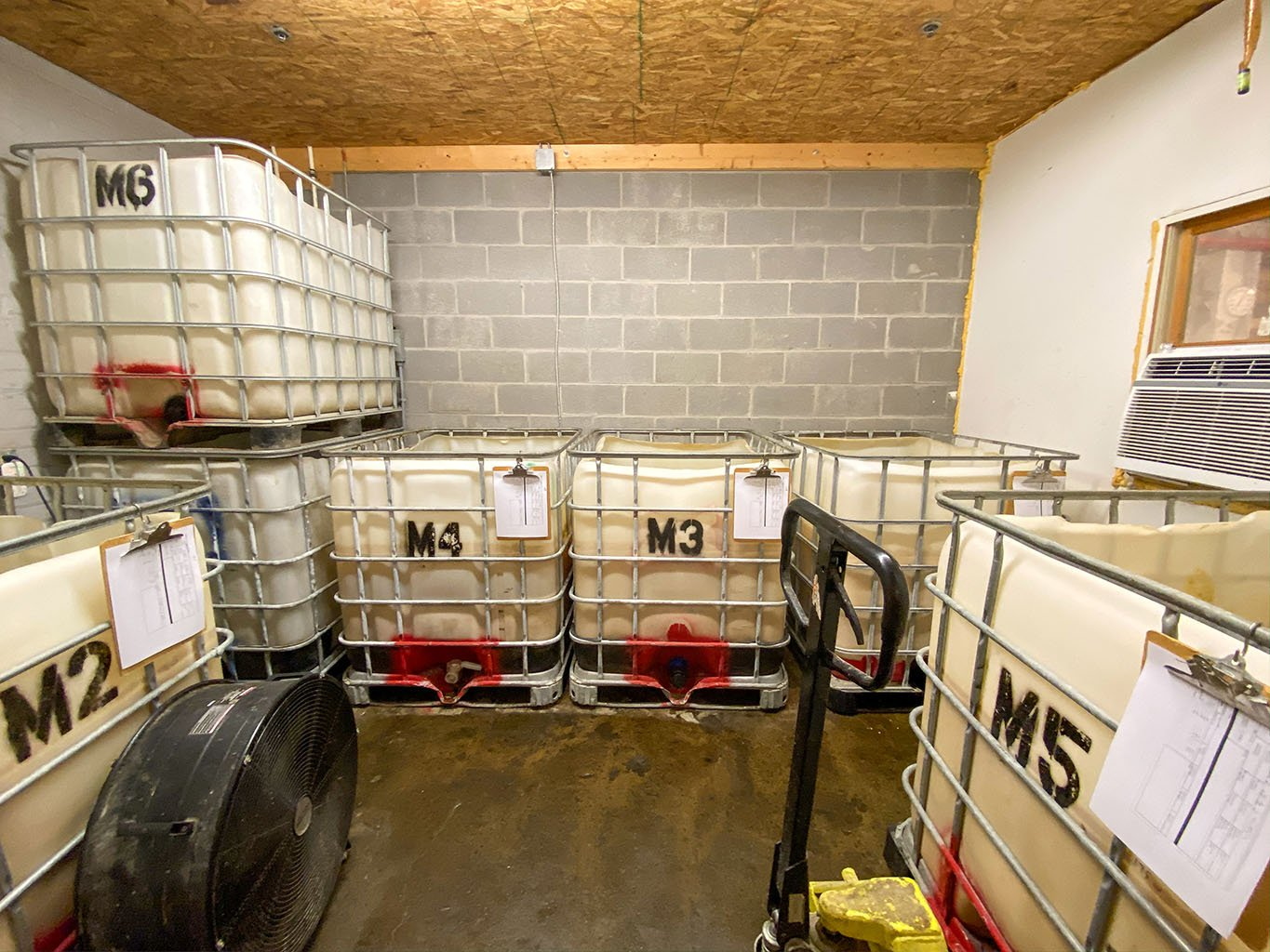 Fermenters -Bluegrass Distillers