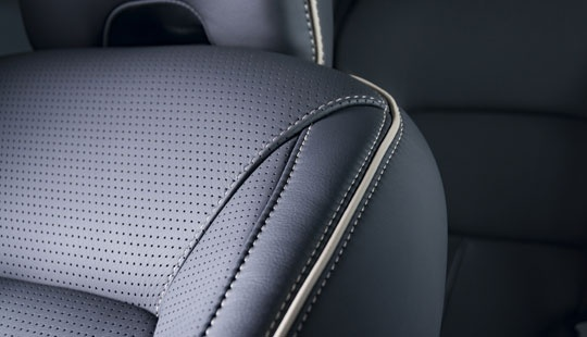 Part Of Leather Car Seat