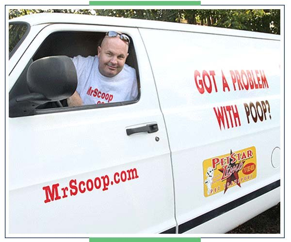 Mr. Scoop Service Van