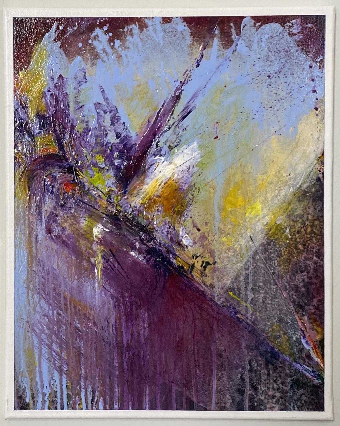 "Abstract Acrylic 16"" X 20"" $165"