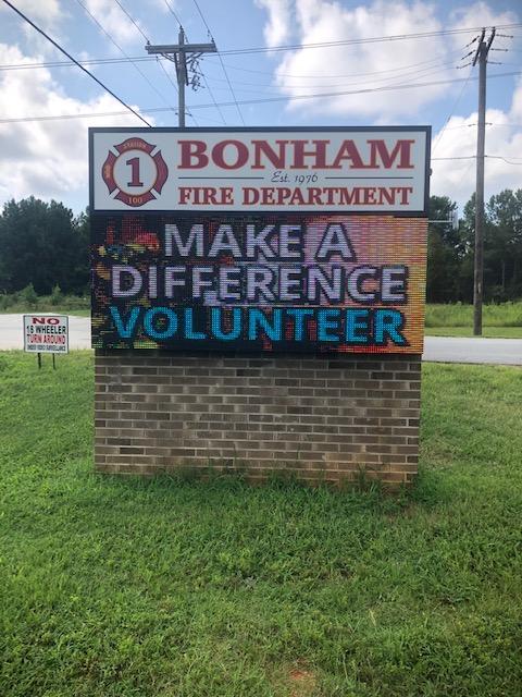 Bonham  Fire Dept, Received SAFER Grant