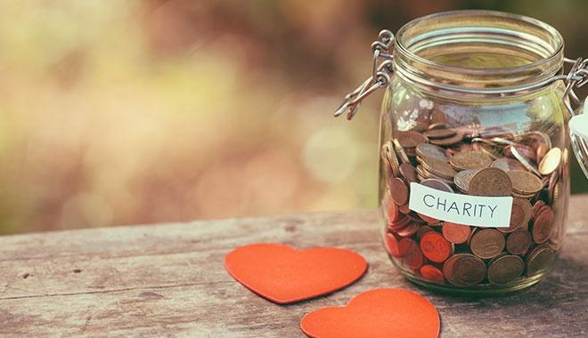 Charity Money Jar
