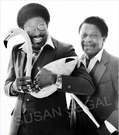 Ezekiel & Jacob Carey - Original members of the doo-wop group The Flamingos - Reno