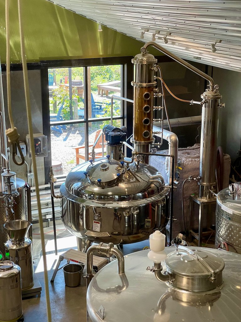 Whiskey Still - Iron Fish Distillery Review Tour