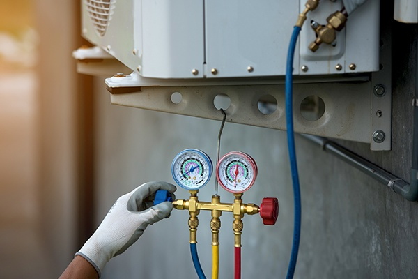 Pressure Gauge & Air Purifier