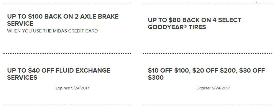 Auto Services Coupons