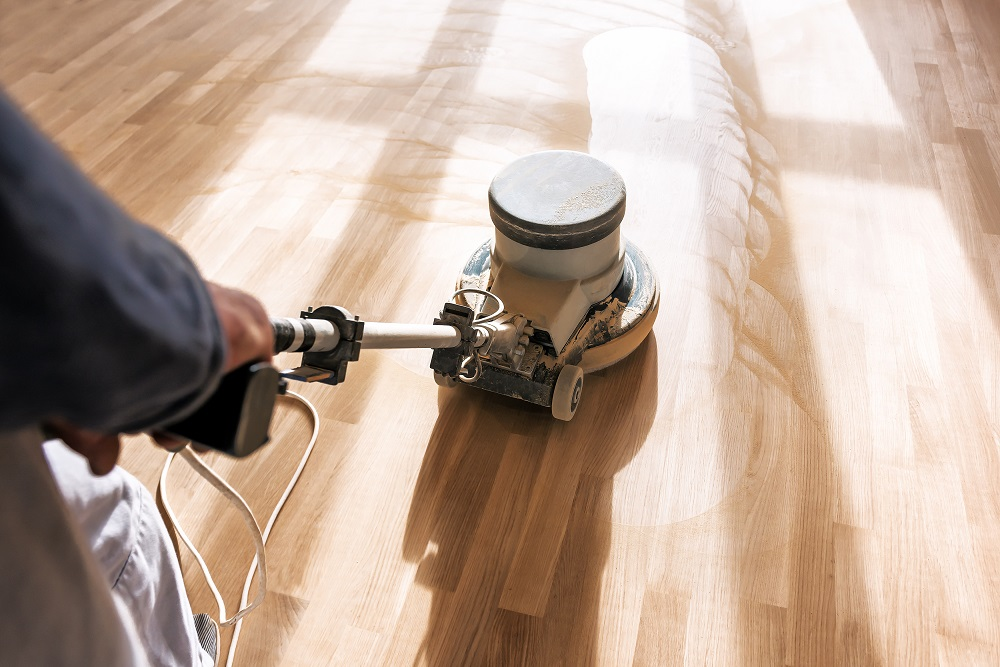 Cleaning wood flooring