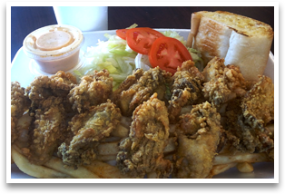 Oyster Plate Combo